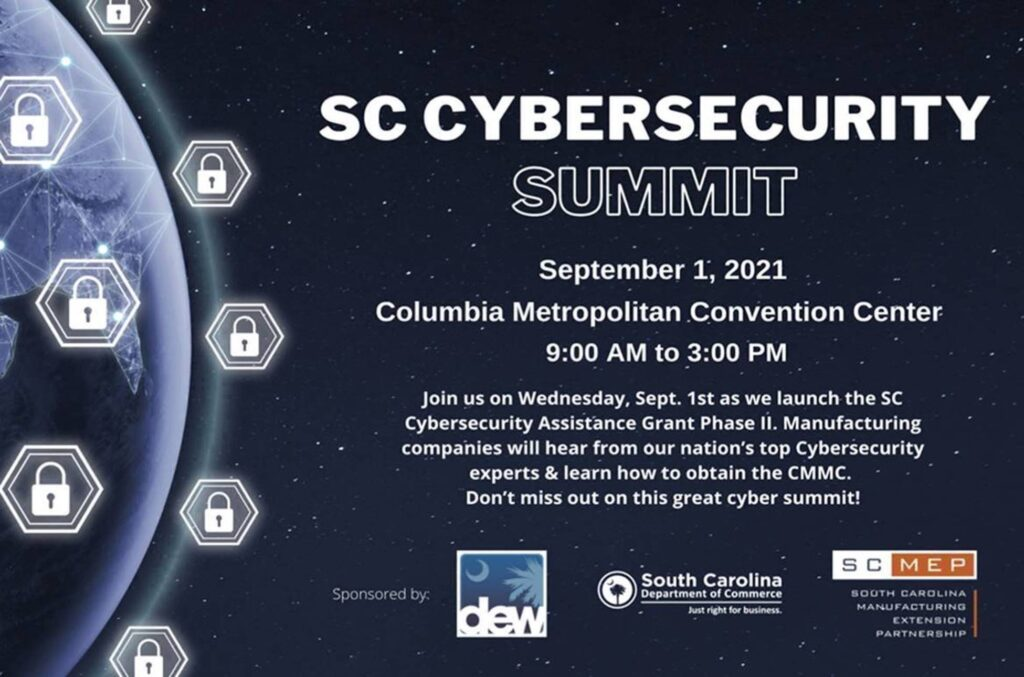 SC Cybersecurity Summit Information