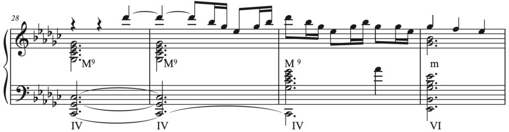 A picture containing music, guitar  Description automatically generated