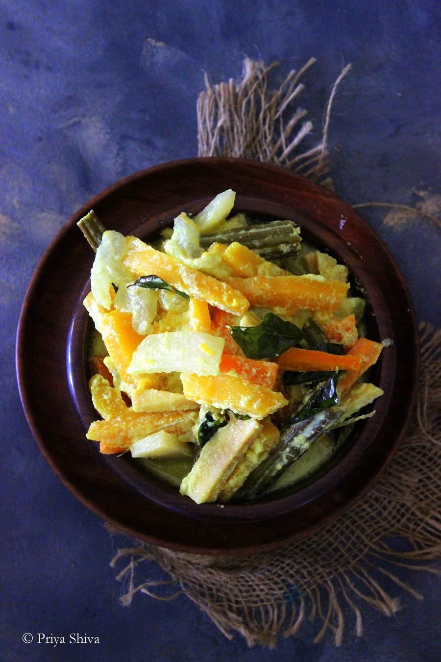 aviyal - kerala curry recipe