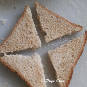 bread triangle
