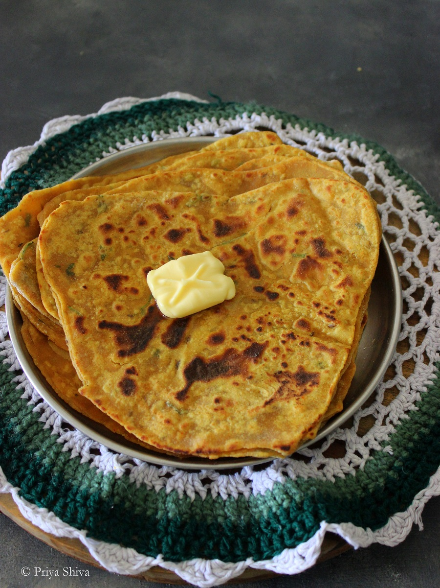 dal parathas recipe