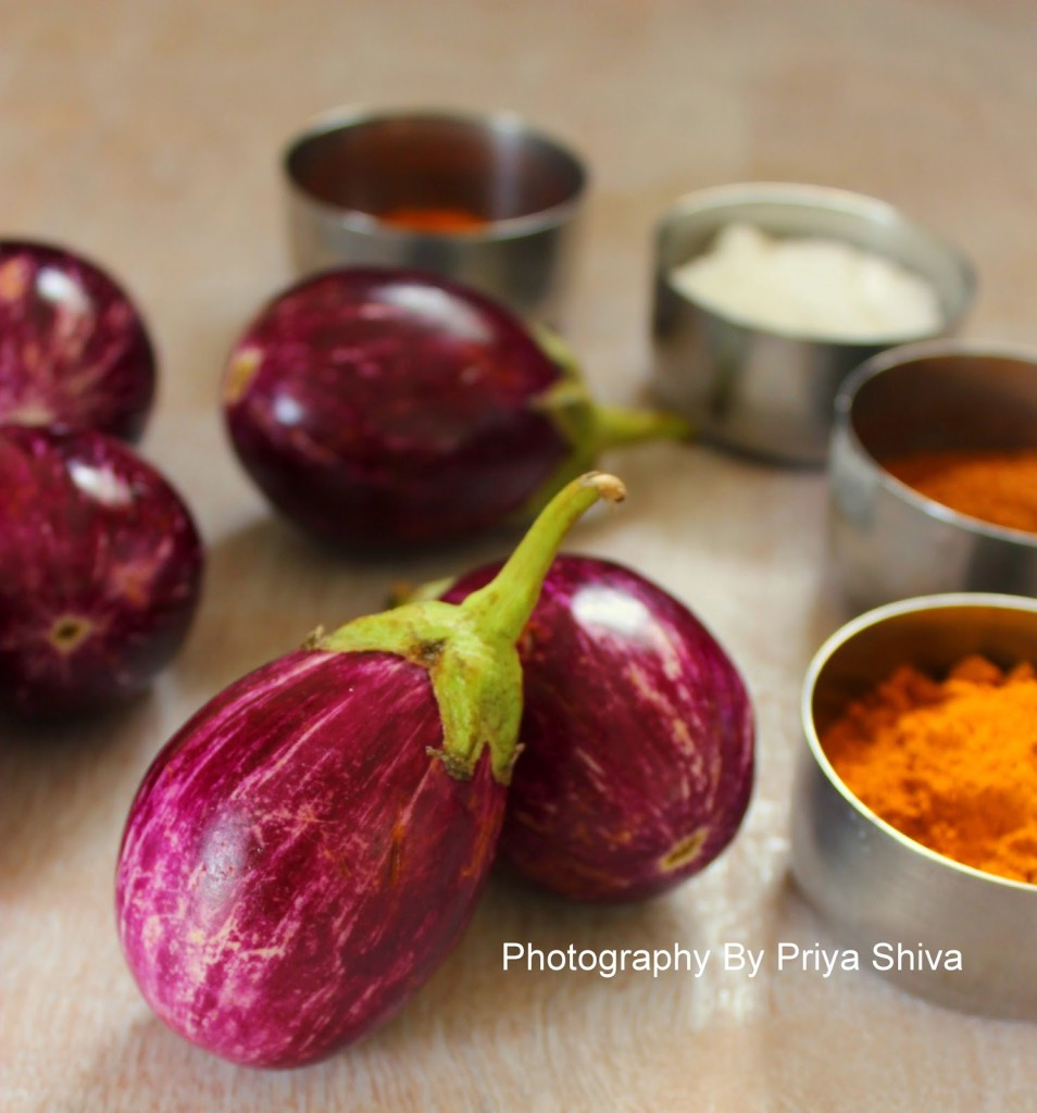Bharli Vangi, eggplant, brinjal, curry