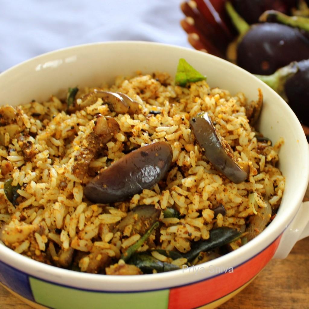 brinjal rice, vangi bhaat