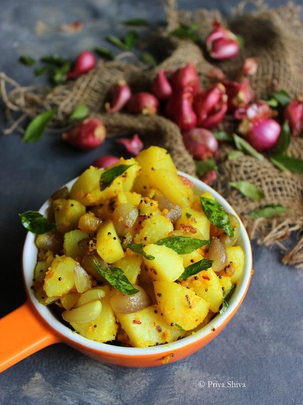 Easy Potato Stir Fry recipe