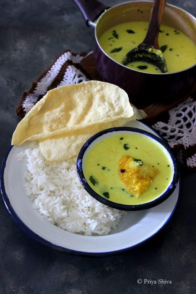 Mambazham Pulissery Recipe
