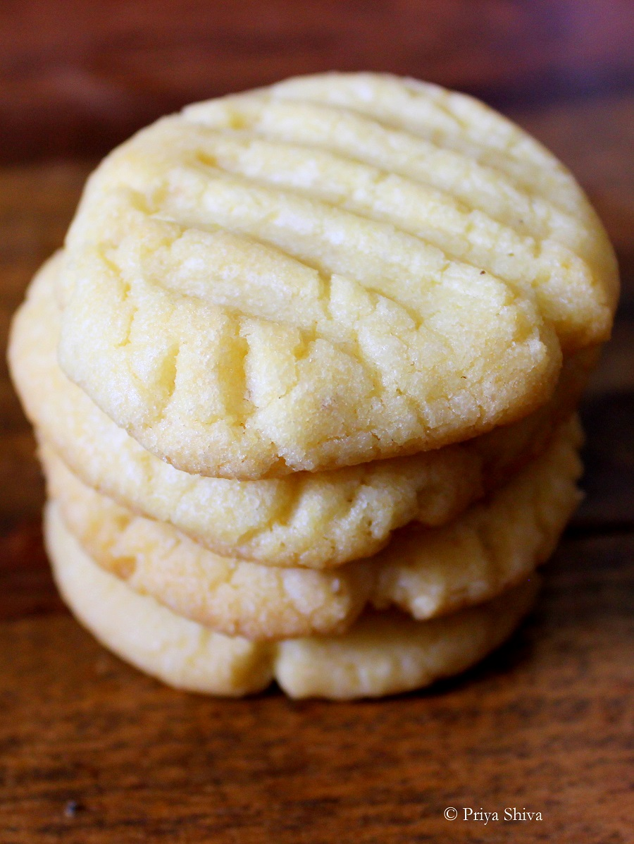 Nankhatai - Indian Eggless Cookies