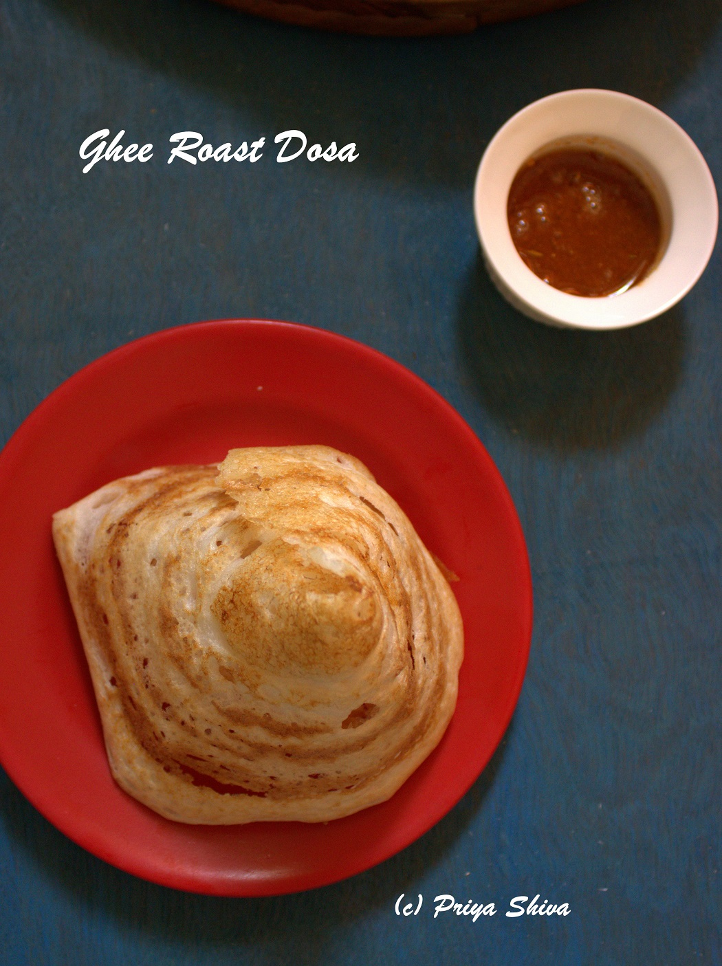 ghee roast dosa