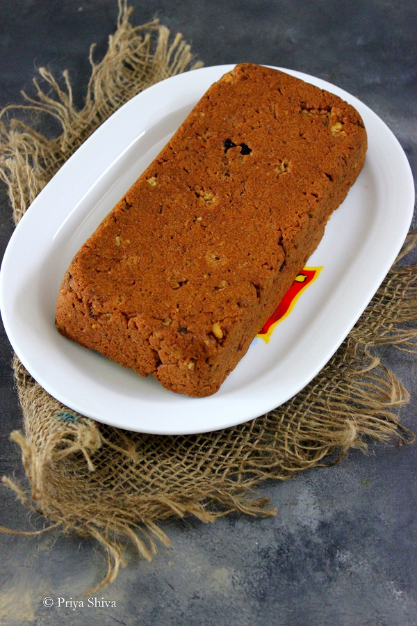 eggless whole wheat banana bread recipe
