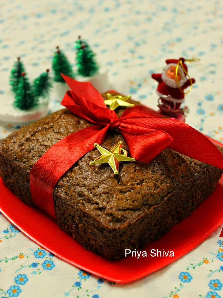 cake, baking, eggless, Christmas, recipe