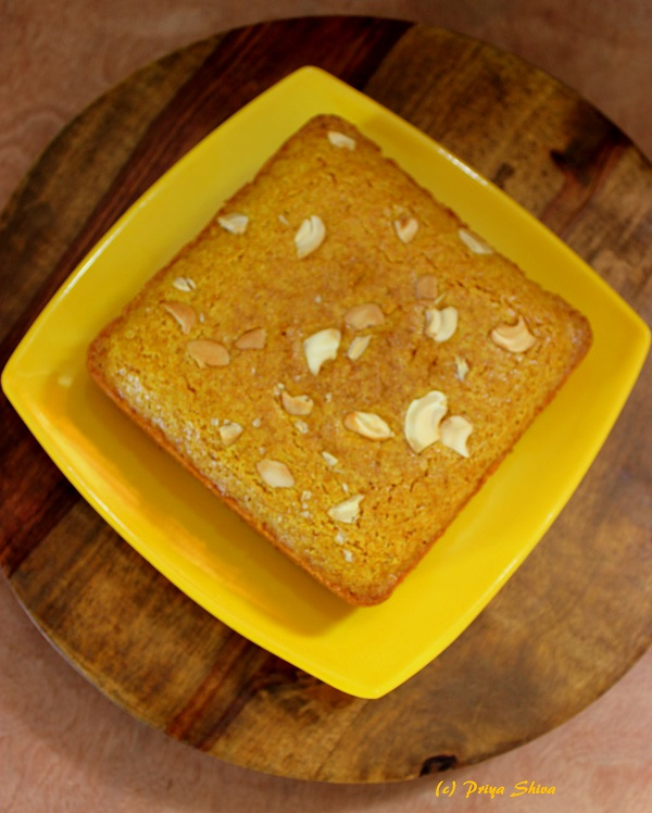eggless-lebanese-turmeric-cake
