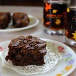 Chocolate brownie, brownie, eggless brownie