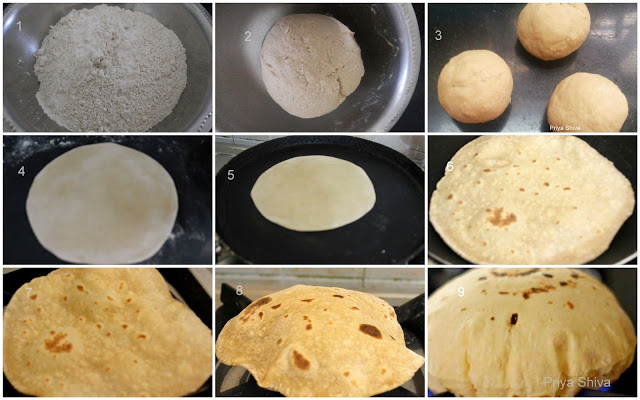 roti, Indian flat bread, how to make soft phulka