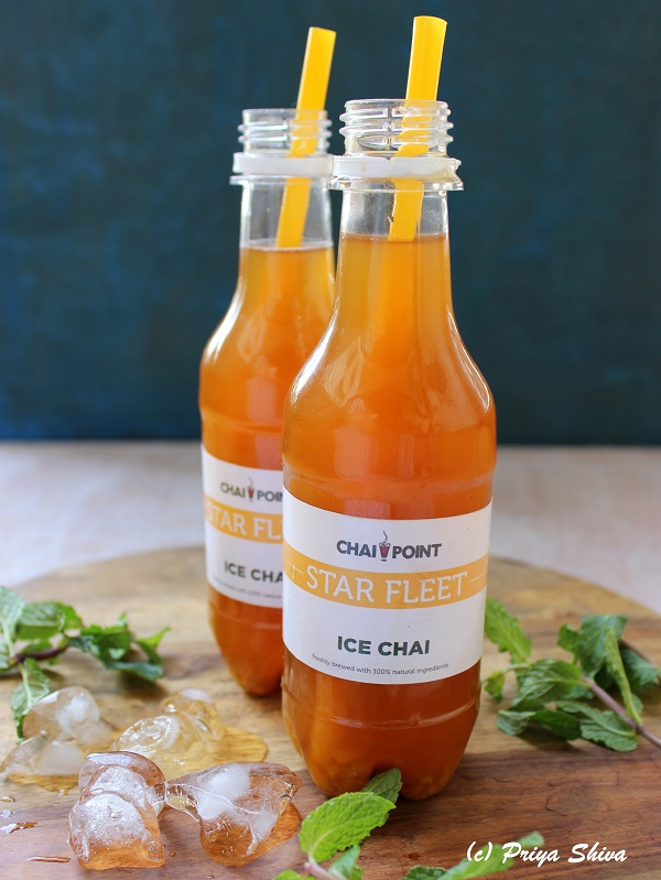 Spiced Mango Ice Chai