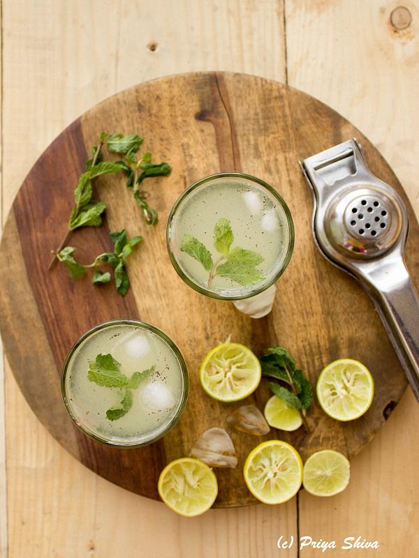 Shikanji - Indian Masala Lemonade