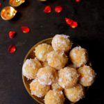 coconut carrot ladoo