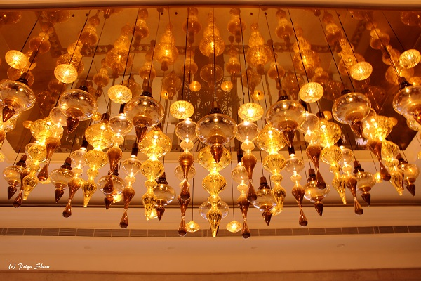 Grand GRT Hotels chandelier