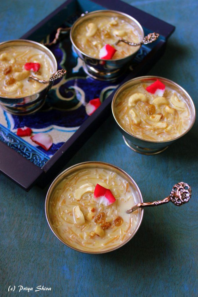 semiya kheer recipe