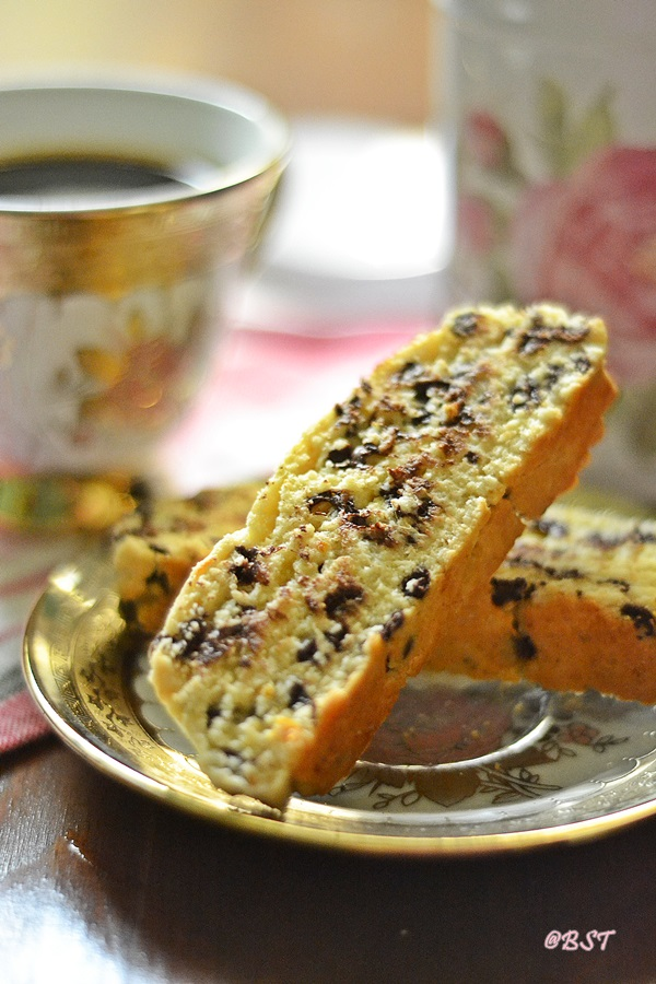 Orange Chocochip Biscotti