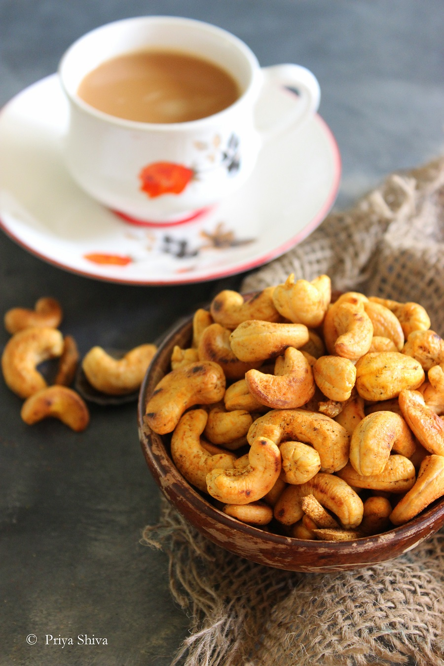 Masala Kaju - Spicy Roasted Cashew