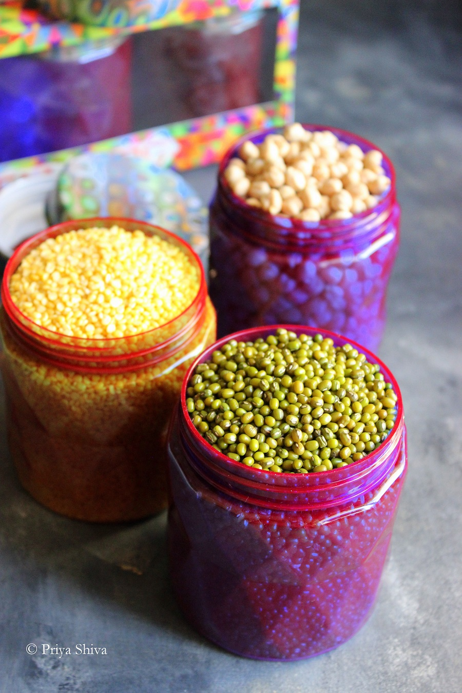 How To Store Food Grains