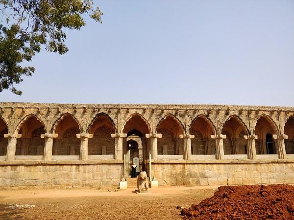 Guards enclosure