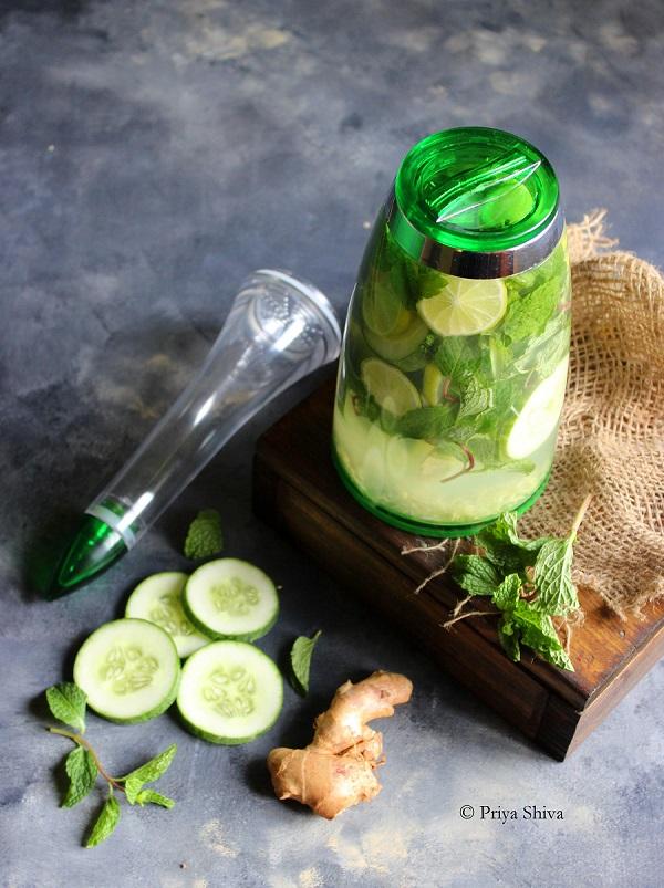 cucumber lemon detox