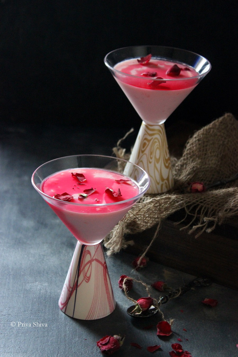 rose pudding recipe