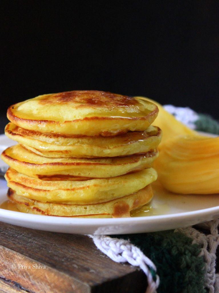 eggless jackfruit pancake recipe