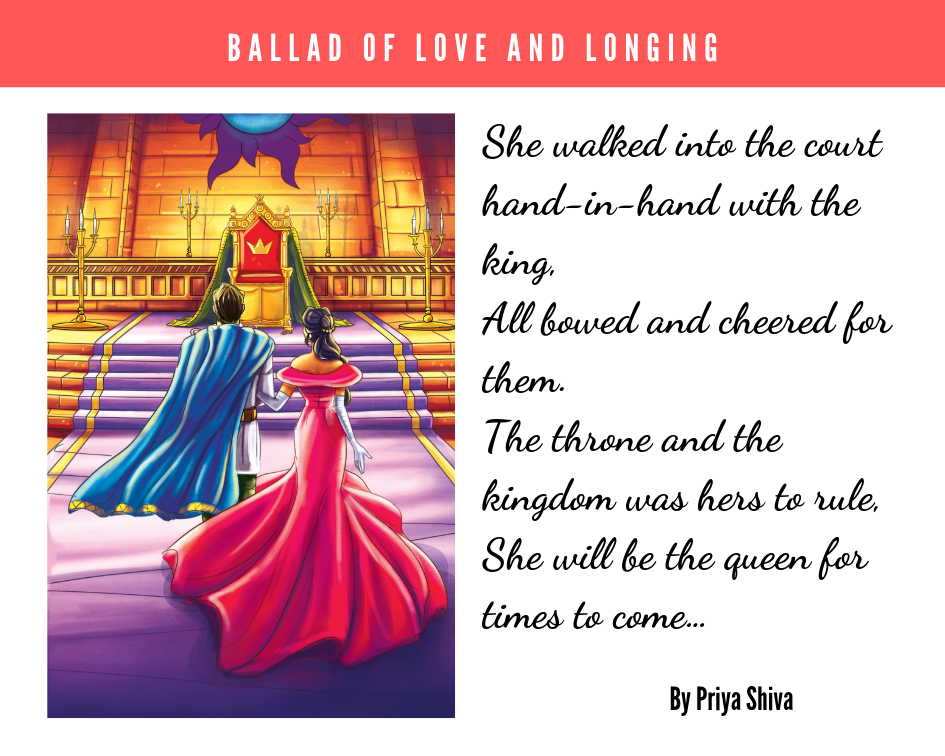ballad of love and longing , Priya Shiva