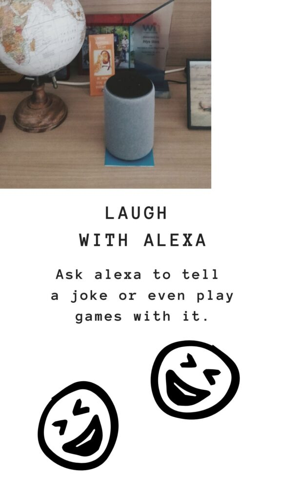 laugh with alexa