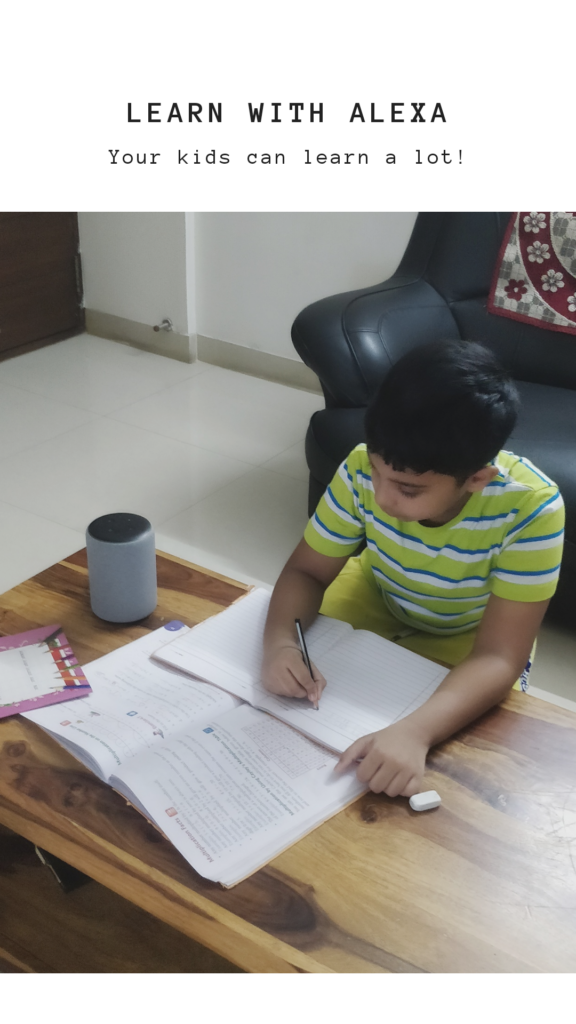 learn and study with alexa