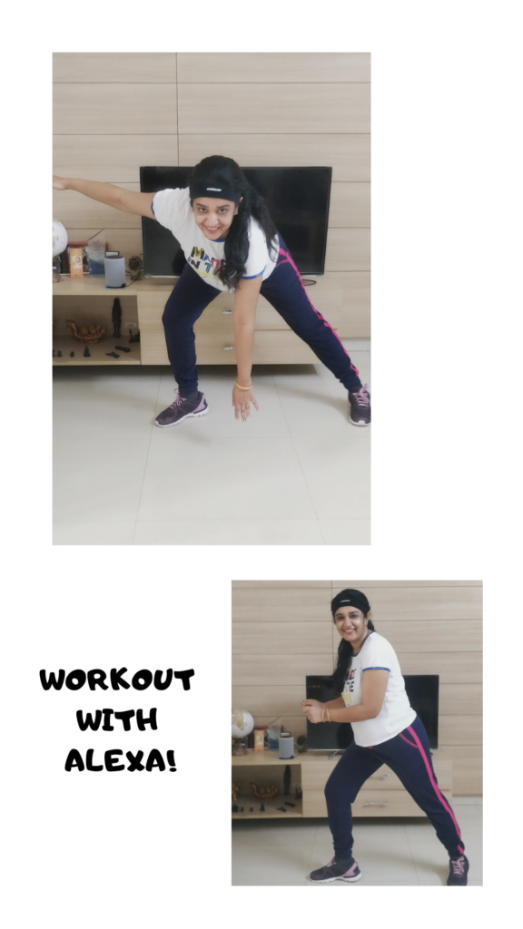 workout with alexa