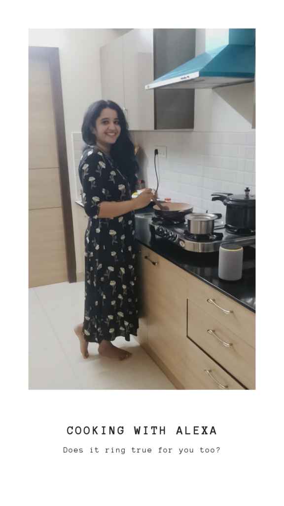 cooking with alexa