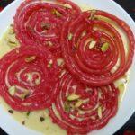 Rose Jalebi recipe