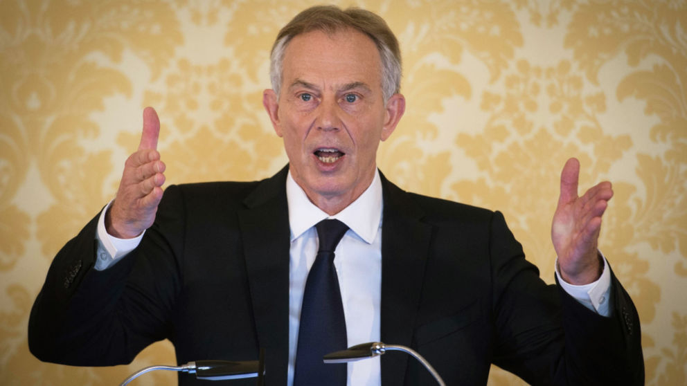 """LONDON, UNITED KINGDOM - JULY 6: Former Prime Minister, Tony Blair speaks during a press conference at Admiralty House, where responding to the Chilcot report he said: """"I express more sorrow, regret and apology than you may ever know or can believe on July 6, 2016. in London, United Kingdom. The Iraq Inquiry Report into the UK government's involvement in the 2003 Iraq War under the leadership of Tony Blair was published today. The inquiry, which concluded in February 2011, was announced by then Prime Minister Gordon Brown in 2009 and is published more than seven years later.  Mr Blair said that the report contained """"serious criticisms"""" but showed that """"there were no lies, Parliament and the Cabinet were not misled, there was no secret commitment to war, intelligence was not falsified and the decision was made in good faith"""".  (Photo by Stefan Rousseau - WPA Pool/Getty Images)"""