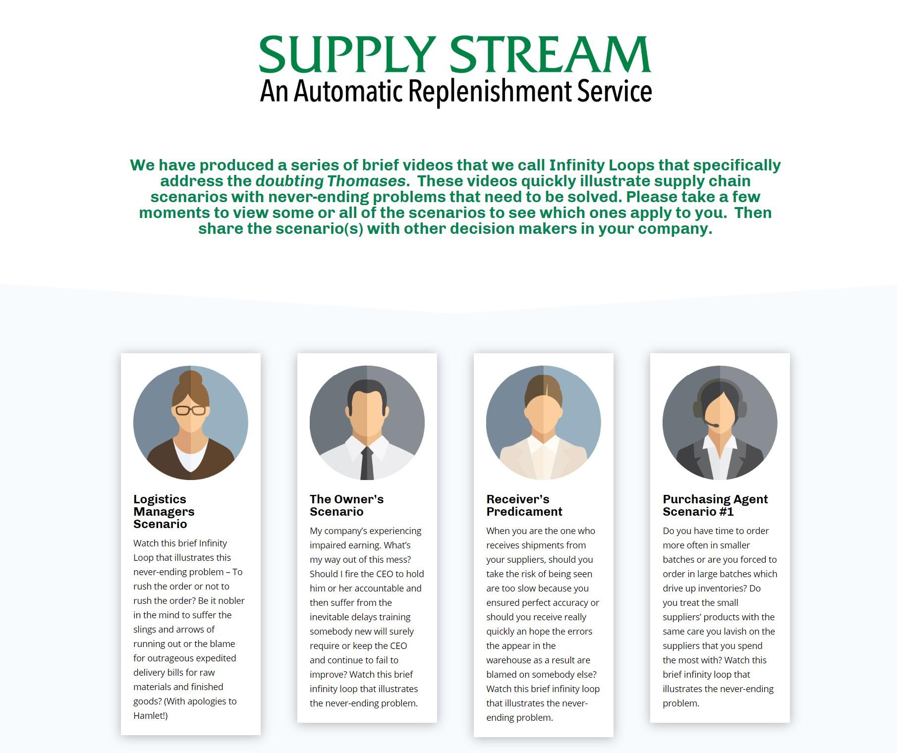 Supply Stream Videos