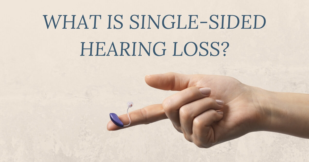 What is Single-Sided Hearing Loss
