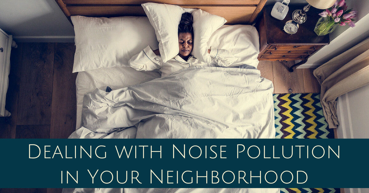 Dealing with Noise Pollution