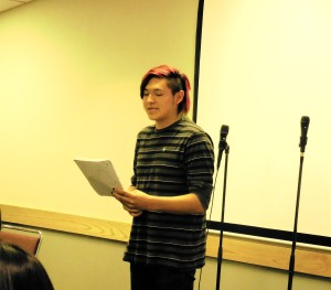 Marcus Ruff, First Place Winner at the LNI Poetry Slam!