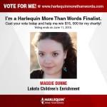 Harlequin Award Dunne