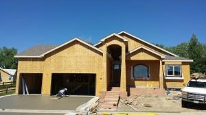 R&R Homes new custom Energy Star home in Mariana Springs in Loveland, CO