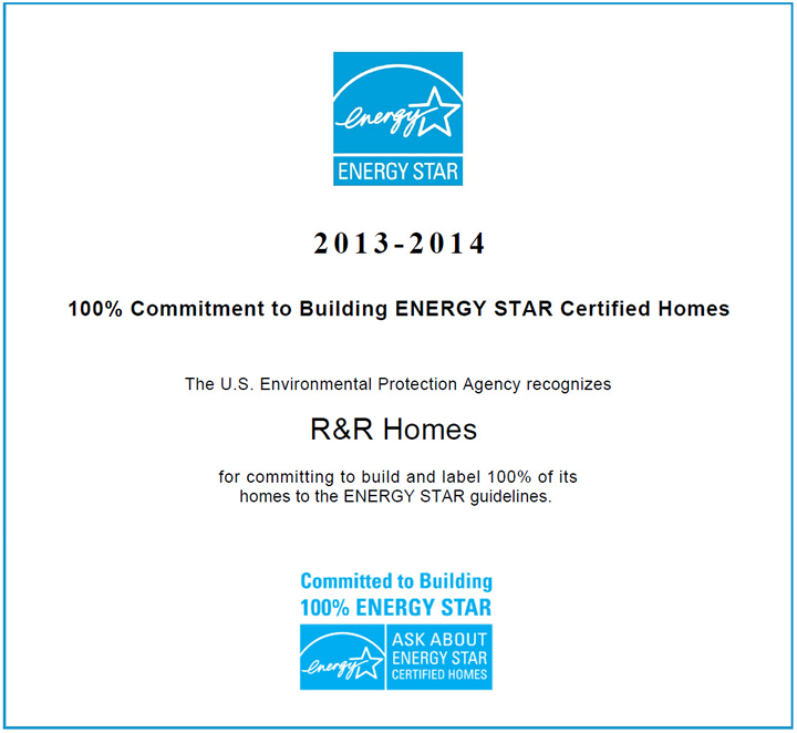New Energy Efficient/Energy Star and Green Built Homes in Loveland, CO and Northern Colorado by R&R Homes