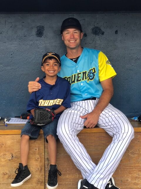 Alex at Trenton Thunder