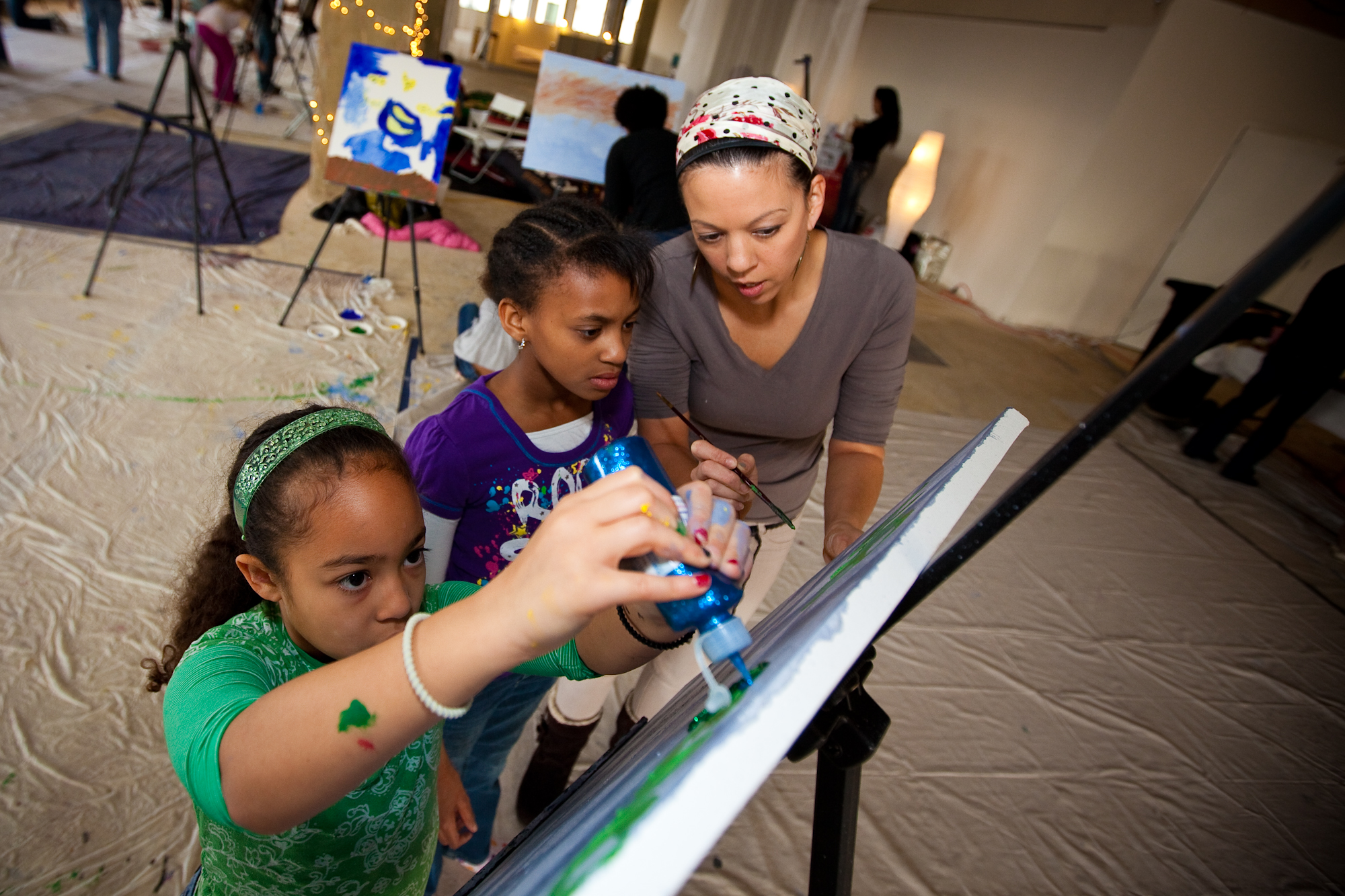Kids Paint Classes and Kids Activities at ArtJamz Kidz Academy