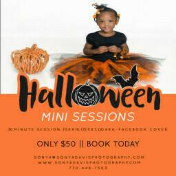 Halloween Mini Sessions {Atlanta Child Photographer}