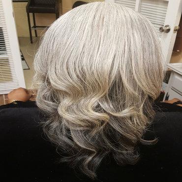 Natural Hair Grey