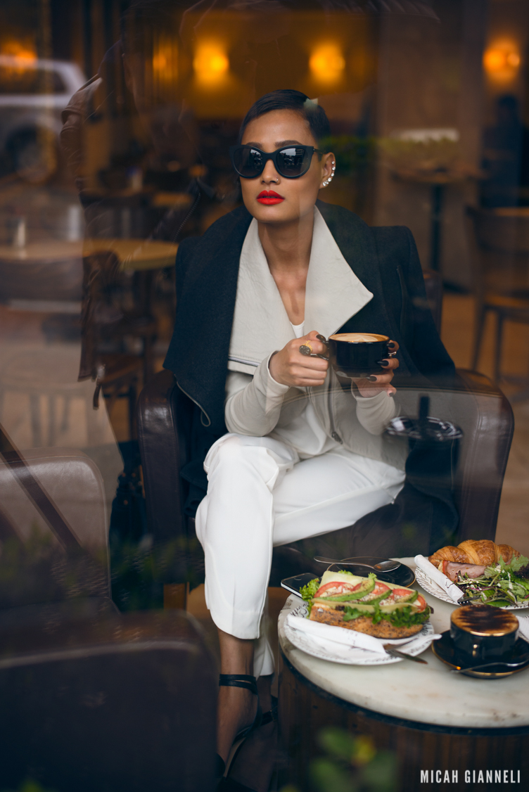 Micah Gianneli_Jesse Maricic photographer_Controle Creatif_Saba_Thierry Lasry_Kookai_Cylk_Sophie Hulme_Mode Collective_Winter fall editorial_Street style editorial_My Wardrobe_Thierry Lasry Lively matte black_Androgynous model editorial