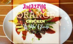 Amazing Fresh Orange Chicken Using Essential Oils and Herbs
