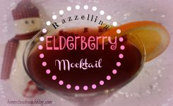 Elderberry Raspberry and Hibiscus Mocktails
