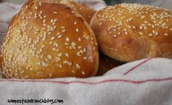 Homemade Easy Peasy Hamburger Buns